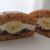 【押上】バナナファクトリーで生バナナどら焼きを食べました。